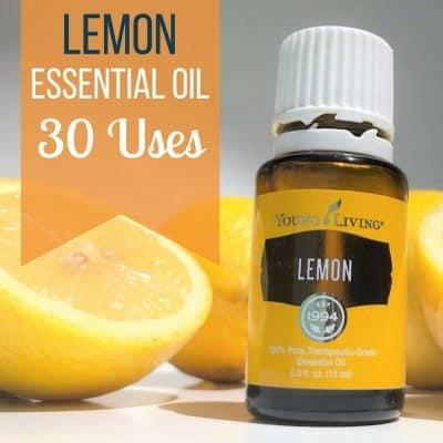 top uses lemon essential oil