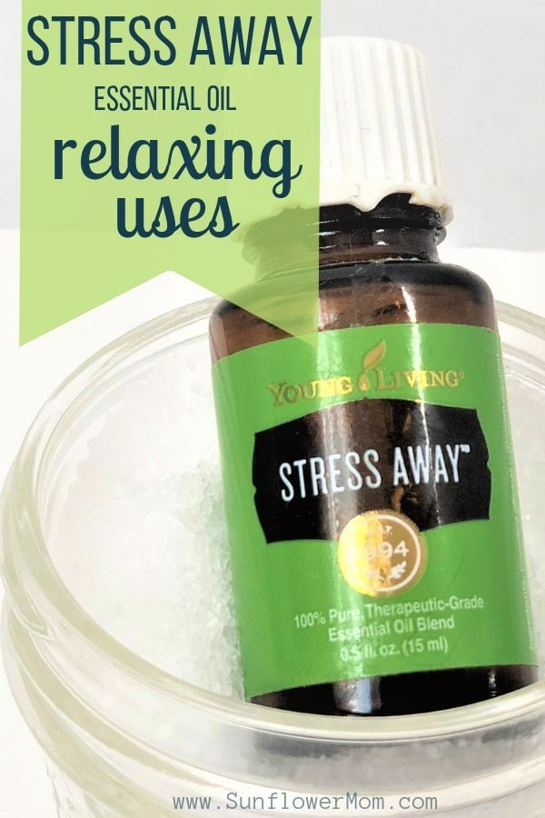 Stress Away essential oil is a relaxing scent that smells primarily of vanilla and lime.  It is true to its name - it takes the stress away! Here are 15 relaxing ways to use Stress Away.