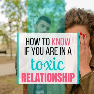 are you in a toxic relationship