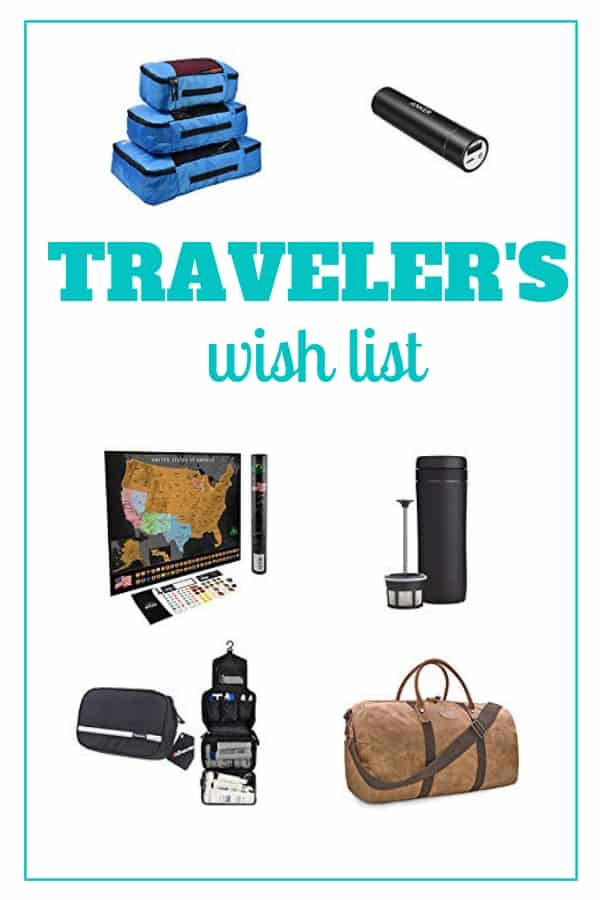 No matter if you would like to find the perfect gift for your father or your sister who is always on the go or even yourself, you can't go wrong with ideas that are related to traveling and visiting new places. #travelgifts #travelwishlist #practicaltravelgifts