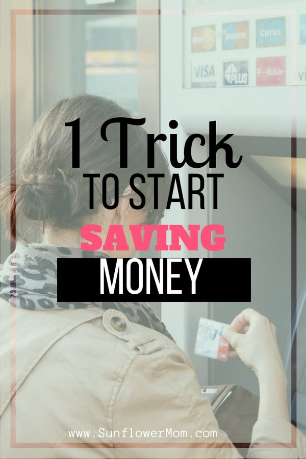 Why you should never withdraw money from an ATM and how to break the habit.  This is the easiest step you can take to protect your budget. See your excuses shredded from why you need it and how to prevent yourself in the future. #money #savemoney #sunflowermom