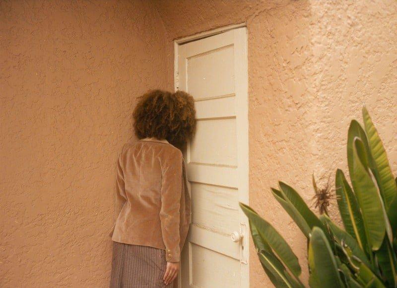 woman feeling down